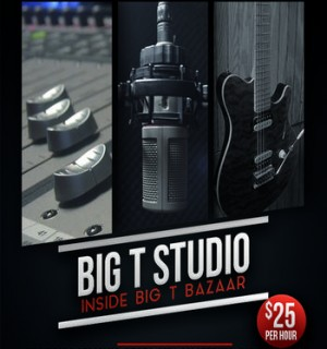 Big T Bazaar Recording Studio